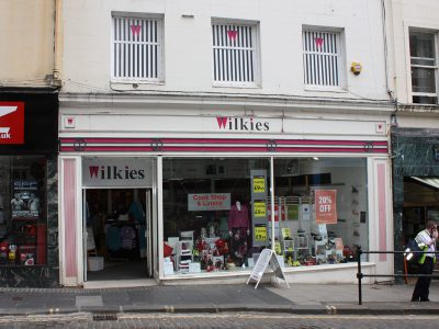 Wilkies Shopfront