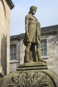 Statue of William Wallace, The Athenaeum, King Street